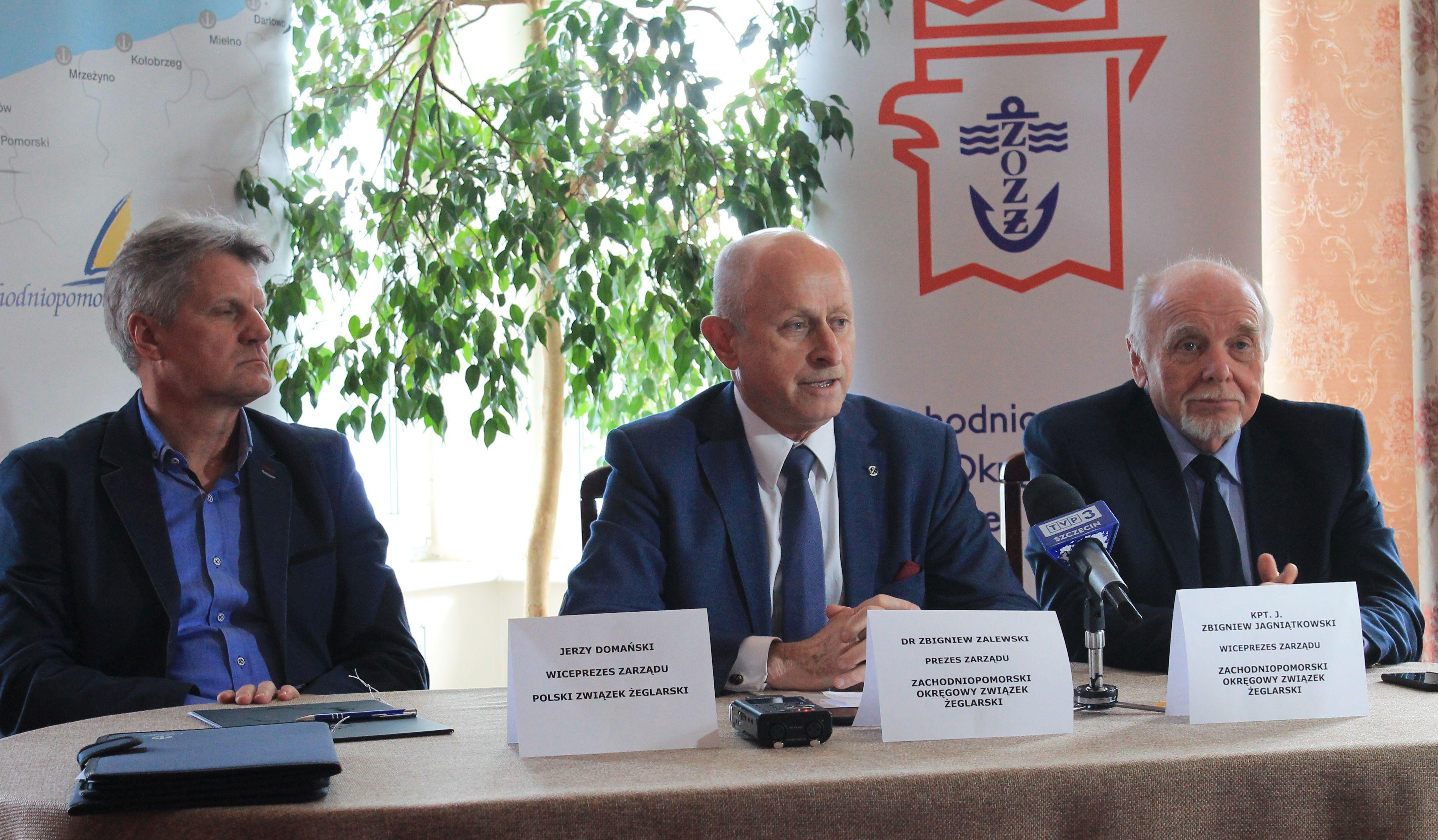 Konferencja prasowa odbyła się we wtorek w Restauracji Jachtowa