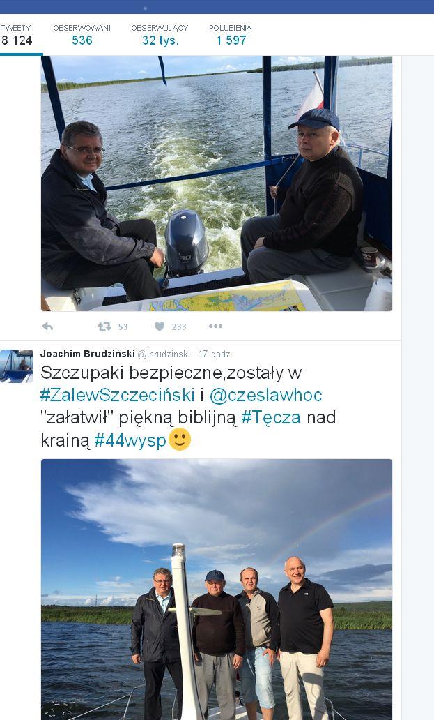 (fot. twitter Joachim Brudziński)