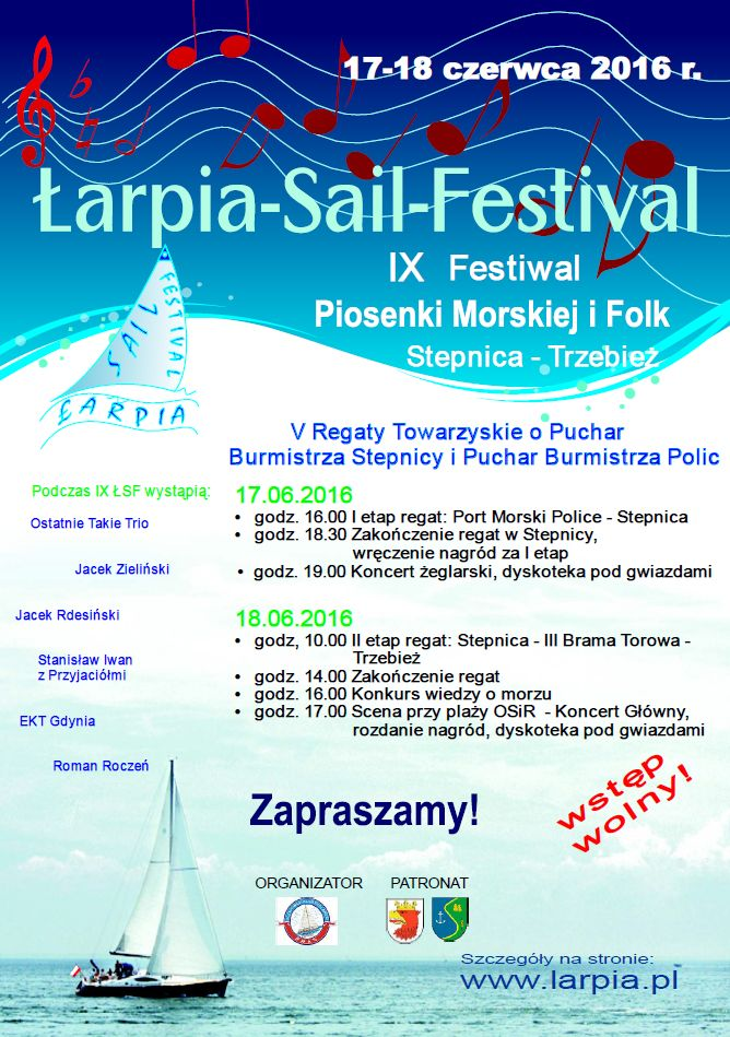 Łarpia-Sail Festival