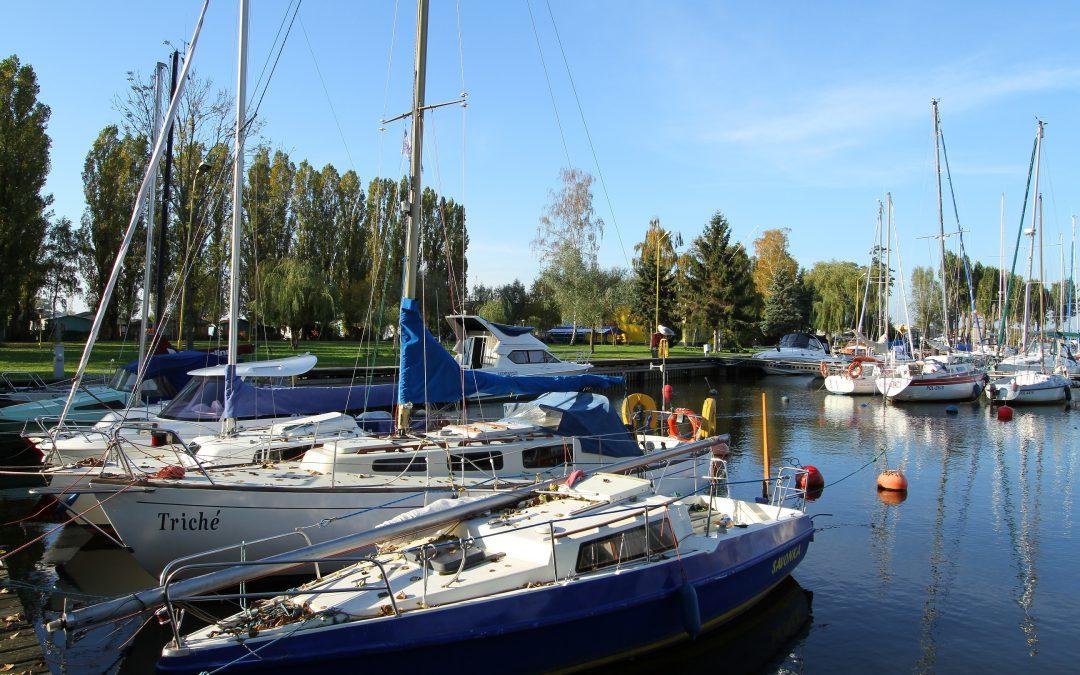 Marina Pogoń popularna wśród żeglarzy