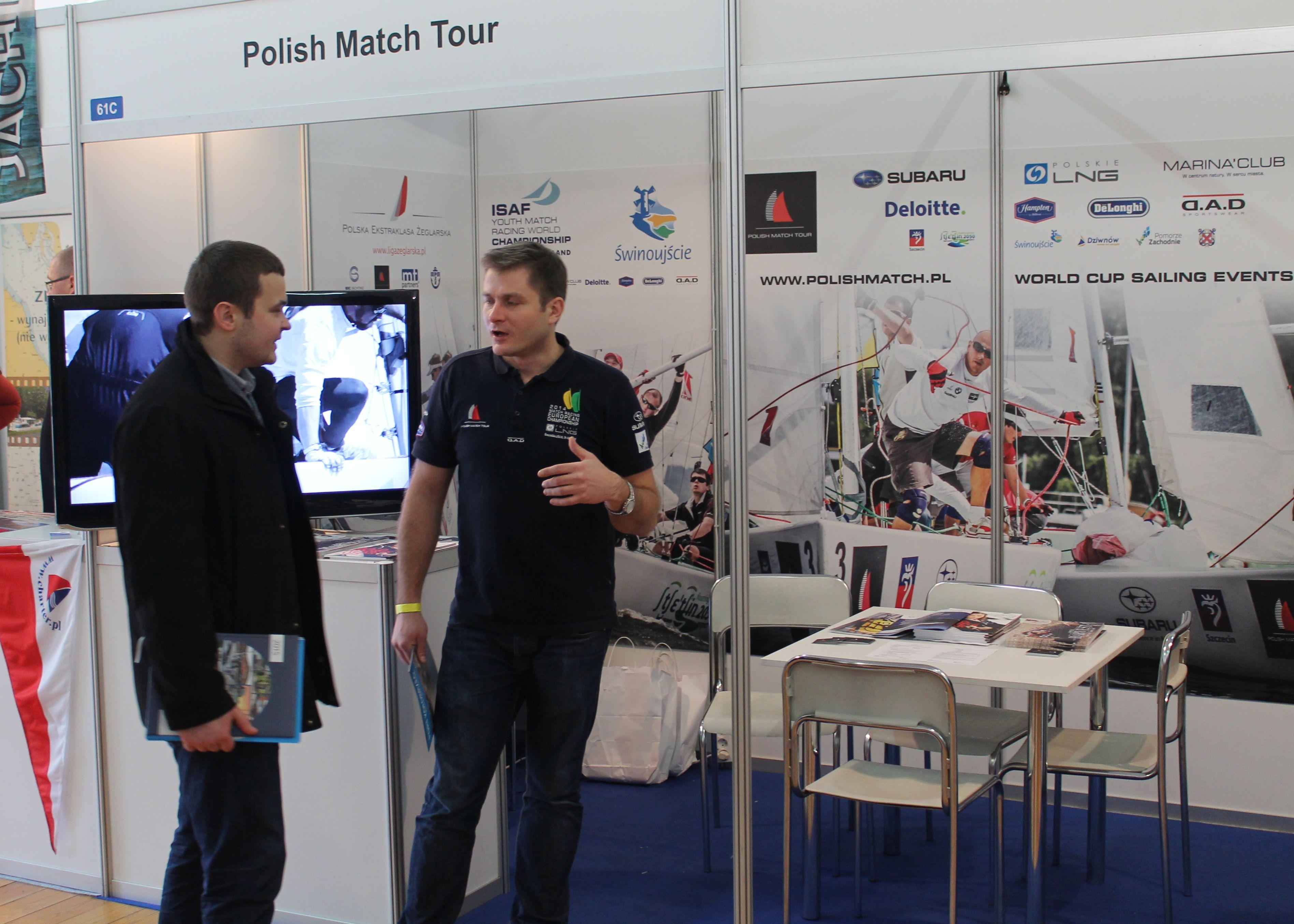 Polish Match Tour na Pomorzu Zachodnim potwierdza u Filipa Gruszczyńskiego Wiktor Popiołek z Kołobrzegu