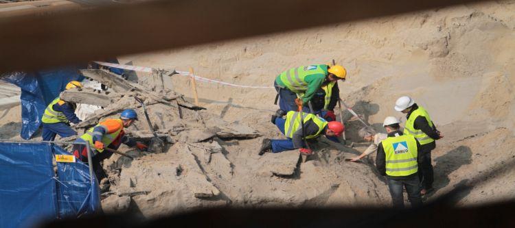 Średniowieczne znalezisko na terenie budowy?