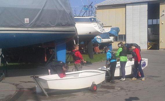 Inauguracja sezonu żeglarskiego MKŻ OPTI