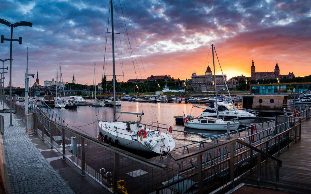 Rekordowy sezon żeglarski w Szczecinie