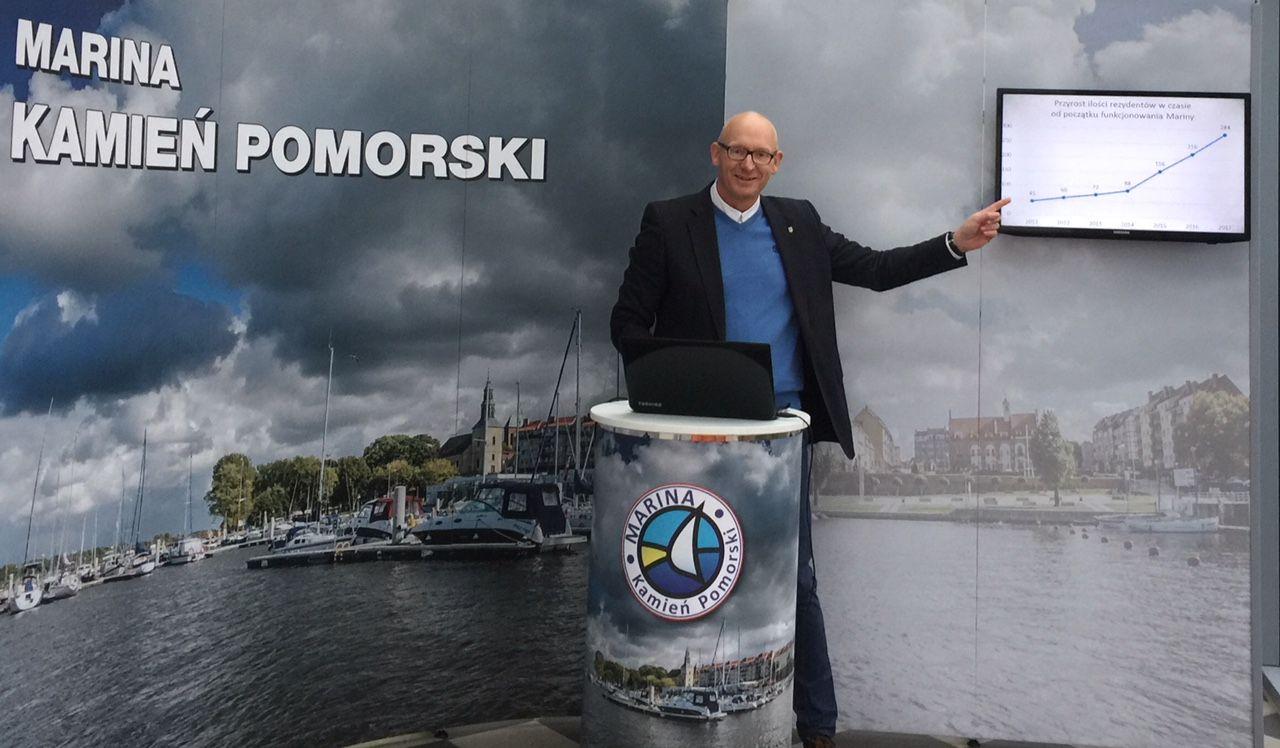 Marek Świderski - Marina Kamień Pomorski