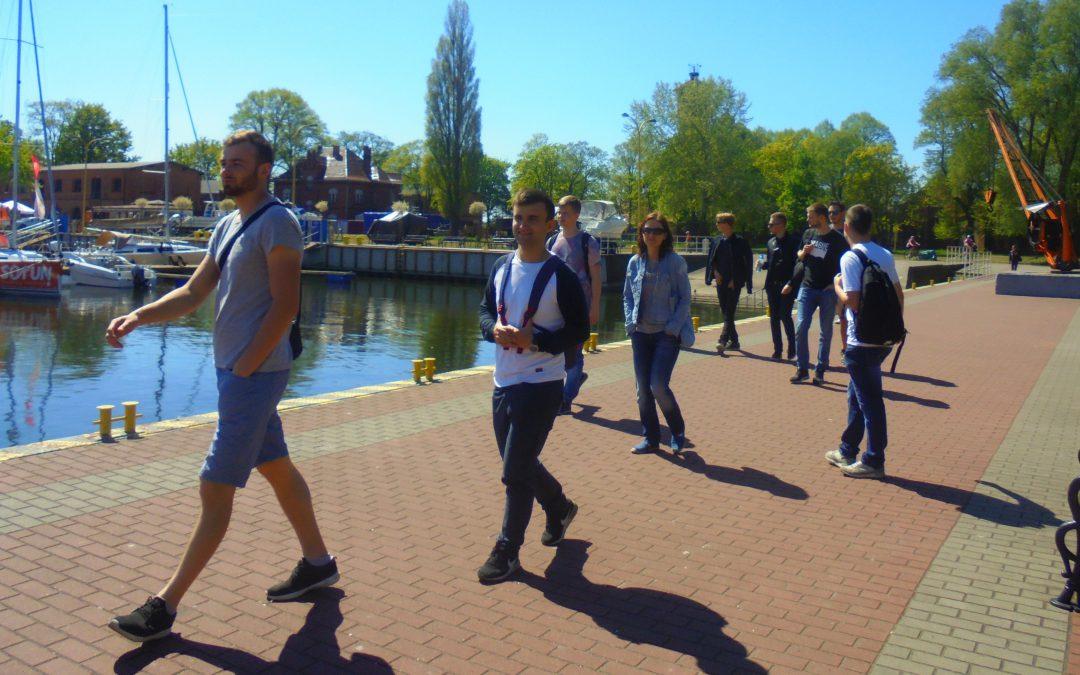 Studenci z wizytą w portach jachtowych