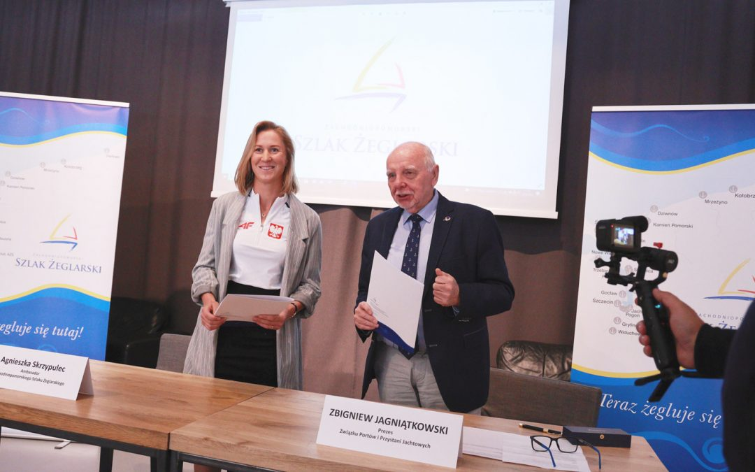 Wicemistrzyni olimpijska Ambasadorem Zachodniopomorskiego Szlaku Żeglarskiego